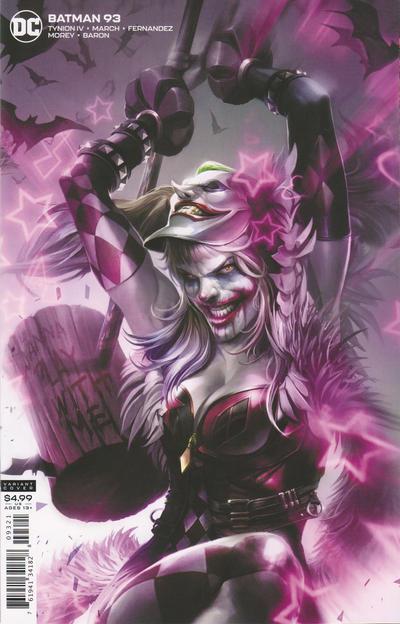 Cover for Batman (DC, 2016 series) #93
