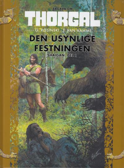 Cover for Sagaen om Thorgal (Hjemmet / Egmont, 2018 series) #7 - Den usynlige festningen