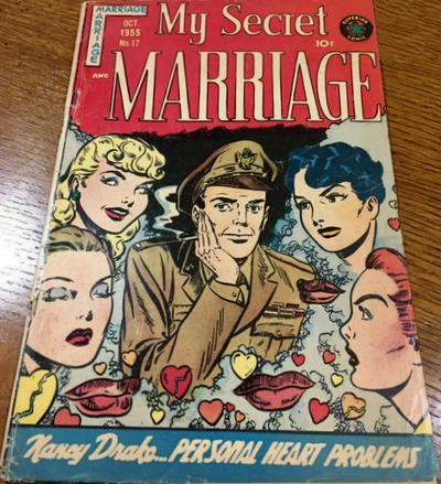 Cover for My Secret Marriage (Superior, 1953 series) #17
