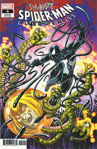 Cover for Symbiote Spider-Man: Alien Reality (Marvel, 2020 series) #4 [Variant Edition - Ron Lim Cover]
