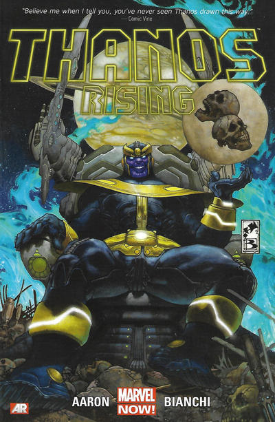Cover for Thanos Rising (Marvel, 2013 series)