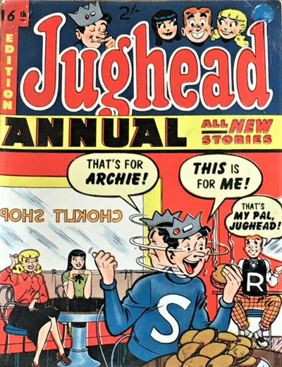 Cover for Archie Annual (Gerald G. Swan, 1950 series) #16