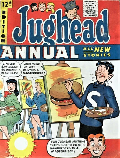 Cover for Archie Annual (Gerald G. Swan, 1950 series) #12