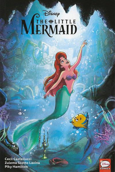 Cover for Disney the Little Mermaid (Dark Horse, 2020 series)
