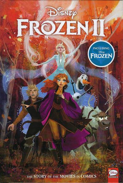 Cover for Disney Frozen and Frozen 2: The Story of the Movies in Comics (Dark Horse, 2020 series)