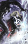 Cover for Thor (Marvel, 2020 series) #1 (727) [Unknown Comics Exclusive - Lucio Parrillo Virgin Art]