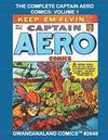 Cover for Gwandanaland Comics (Gwandanaland Comics, 2016 series) #2648 - The Complete Captain Aero Comics: Volume 1