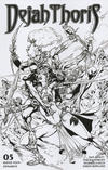 Cover Thumbnail for Dejah Thoris (2019 series) #5 [Robert Castro Black and White FOC Bonus]