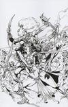 Cover for Dejah Thoris (Dynamite Entertainment, 2019 series) #5 [Roberto Castro Virgin Black and White FOC Bonus]