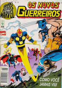 Cover Thumbnail for Grandes Heróis Marvel (Editora Abril, 1983 series) #46