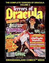 Cover Thumbnail for Gwandanaland Comics (Gwandanaland Comics, 2016 series) #2635 - The Complete Terrors of Dracula: Volume 2