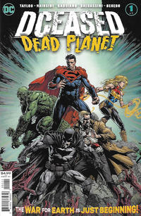 Cover Thumbnail for DCeased: Dead Planet (DC, 2020 series) #1 [David Finch Cover]