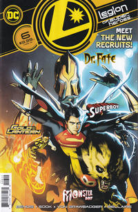 Cover Thumbnail for Legion of Super-Heroes (DC, 2020 series) #6 [Second Printing]