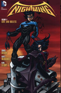 Cover Thumbnail for Nightwing (DC, 2014 series) #4 - Love and Bullets