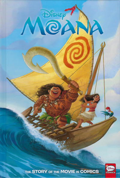 Cover for Disney Moana: The Story of the Movie in Comics (Dark Horse, 2020 series)