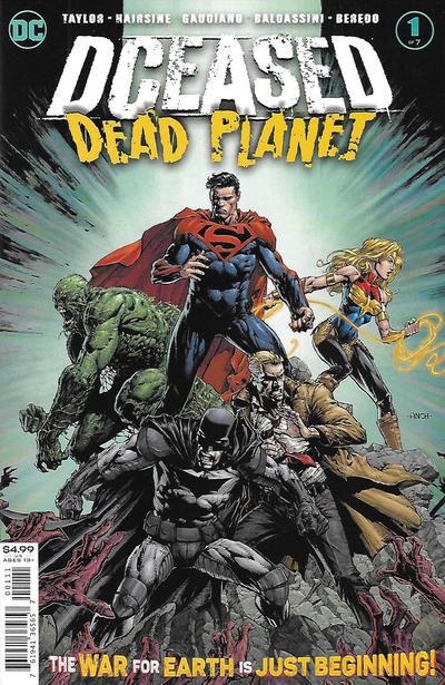 Cover for DCeased: Dead Planet (DC, 2020 series) #1 [David Finch Cover]