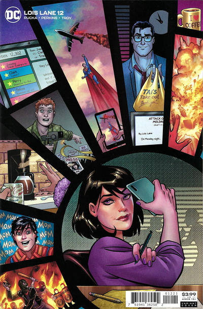 Cover for Lois Lane (DC, 2019 series) #12 [Amanda Conner Cover]