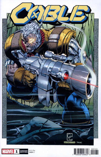 Cover for Cable (Marvel, 2020 series) #1 [W. Scott Forbes]