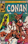 Cover for Conan the Barbarian (Marvel, 1970 series) #123 [British]