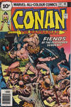Cover for Conan the Barbarian (Marvel, 1970 series) #64 [British]