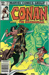 Cover for Conan the Barbarian (Marvel, 1970 series) #133 [Newsstand]