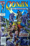 Cover for Conan the Barbarian (Marvel, 1970 series) #252 [Newsstand]