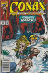 Cover for Conan the Barbarian (Marvel, 1970 series) #254 [Newsstand]