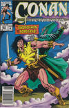 Cover for Conan the Barbarian (Marvel, 1970 series) #257 [Newsstand]