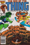 Cover for The Thing (Marvel, 1983 series) #36 [Canadian]