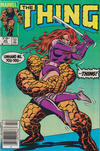 Cover for The Thing (Marvel, 1983 series) #20 [Canadian]