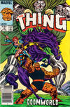 Cover for The Thing (Marvel, 1983 series) #12 [Canadian]