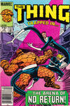 Cover for The Thing (Marvel, 1983 series) #10 [Canadian]