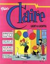 Cover for Claire (Divo, 1990 series) #3 - Licht & luchtig [Eerste Druk (1991)]
