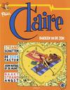 Cover for Claire (Divo, 1990 series) #6 - Bakken in de zon [Eerste Druk]