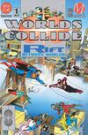 Cover for Worlds Collide (DC, 1994 series) #1 [Premium Edition (Platinum)]