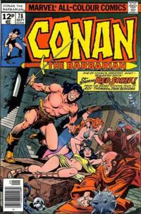 Cover Thumbnail for Conan the Barbarian (Marvel, 1970 series) #78 [British]