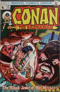 Cover Thumbnail for Conan the Barbarian (Marvel, 1970 series) #27 [British]