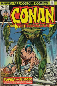 Cover Thumbnail for Conan the Barbarian (Marvel, 1970 series) #43 [British]