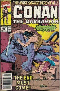 Cover Thumbnail for Conan the Barbarian (Marvel, 1970 series) #240 [Newsstand]
