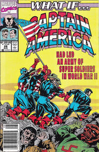 Cover Thumbnail for What If...? (Marvel, 1989 series) #28 [Newsstand]
