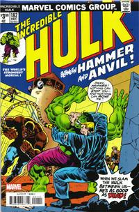 Cover Thumbnail for Incredible Hulk No. 182 Facsimile Edition (Marvel, 2020 series)
