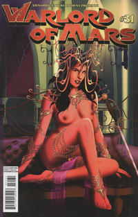 Cover Thumbnail for Warlord of Mars (Dynamite Entertainment, 2010 series) #31 [risqué cover Wagner Reis]