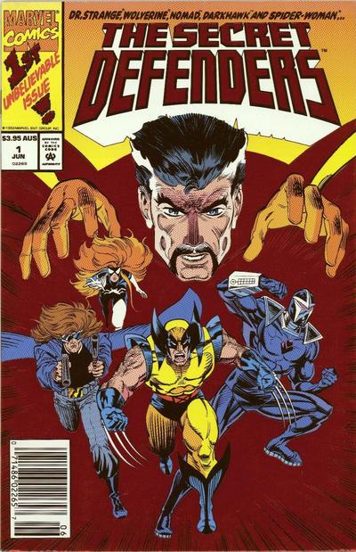 Cover for The Secret Defenders (Marvel, 1993 series) #1 [Direct]