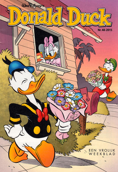 Cover for Donald Duck (Sanoma Uitgevers, 2002 series) #48/2015