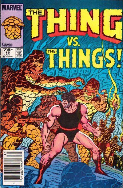 Cover for The Thing (Marvel, 1983 series) #16 [Newsstand]