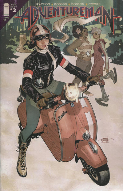 Cover for Adventureman (Image, 2020 series) #2