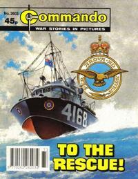 Cover Thumbnail for Commando (D.C. Thomson, 1961 series) #2603