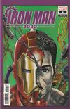 Cover for Iron Man 2020 (Marvel, 2020 series) #4 [Superlog]