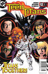 Cover for Teen Titans (DC, 2003 series) #12 [Newsstand]
