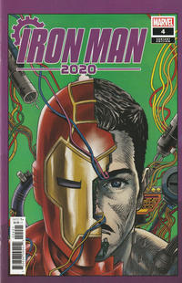 Cover Thumbnail for Iron Man 2020 (Marvel, 2020 series) #4 [Superlog]
